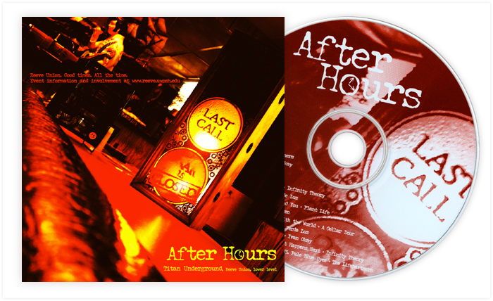 After Hours CD cover