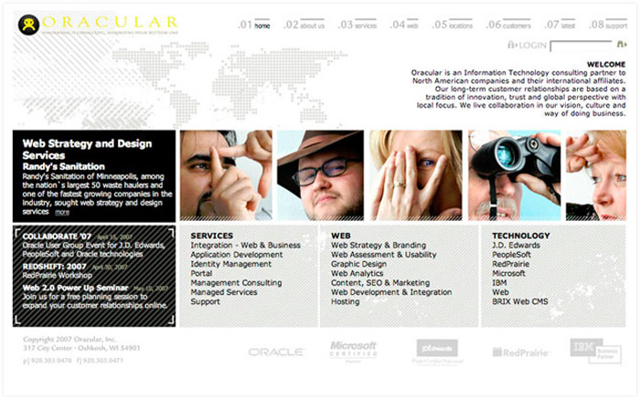 Oracular website