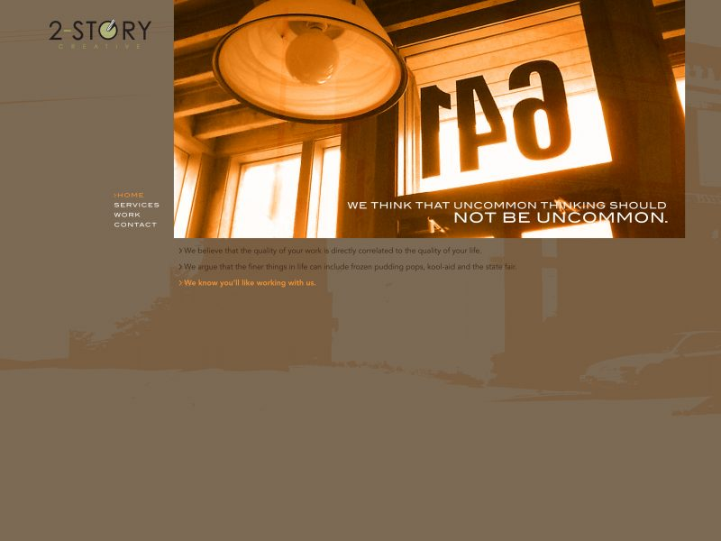 2-Story web design concepts