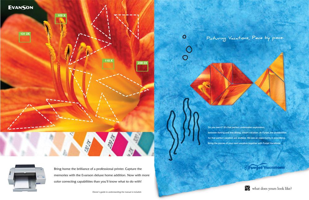 Funjet magazine ad Tropics