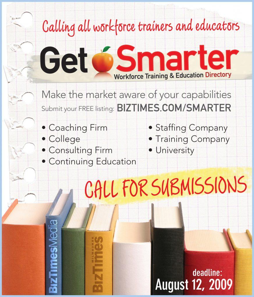 Get Smarter print ad