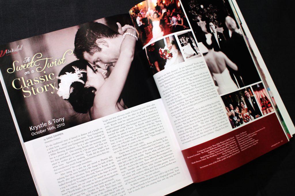 Veil Magazine spread