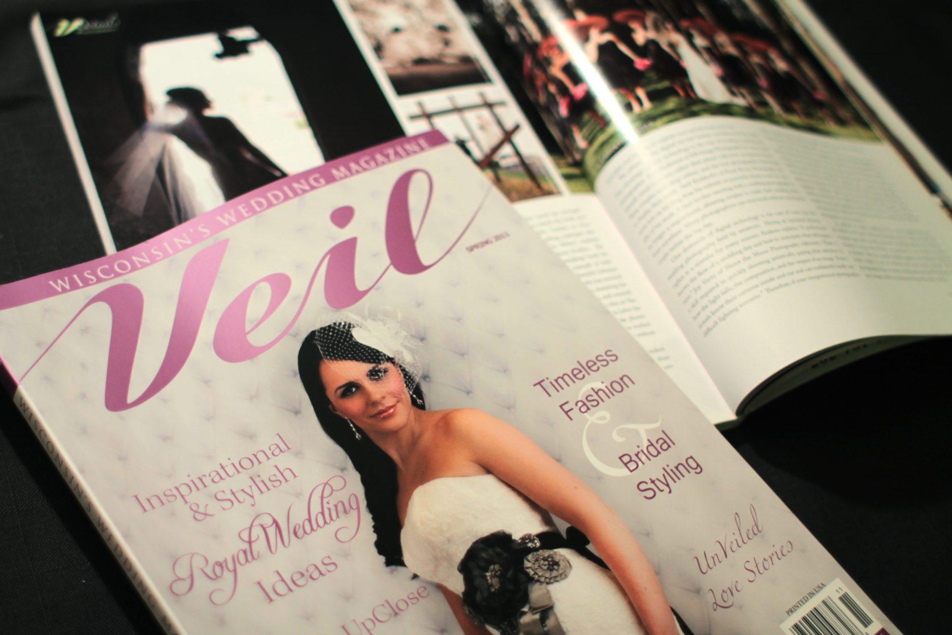 Veil Magazine cover